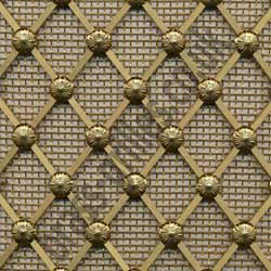 Regency Brass Decorative Grille -  25mm Diamonds