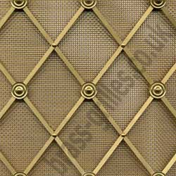 Regency Decorative Brass Grille - 41mm Diamonds